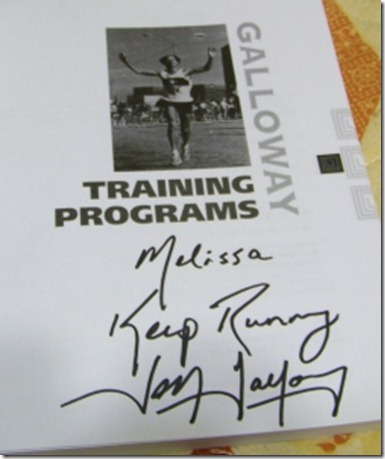 Galloway autograph