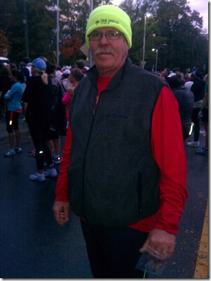 Ron before race