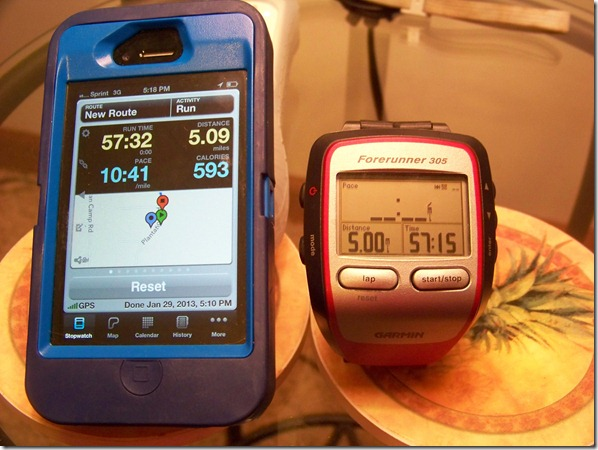 runmeter vs garmin
