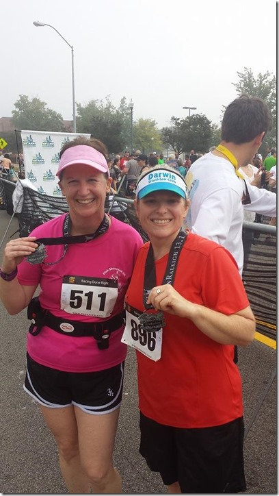 RunRaleigh Half with LIsa