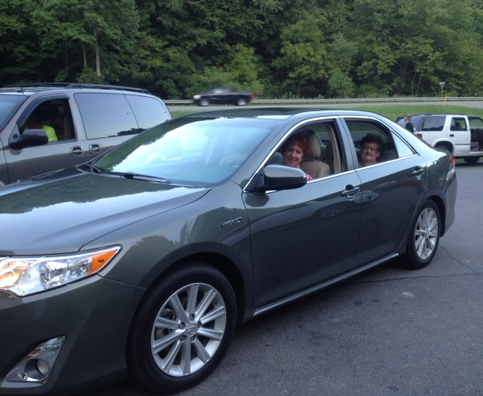Rosa's new Camry