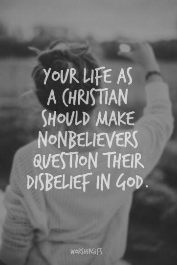 Life as a Christian