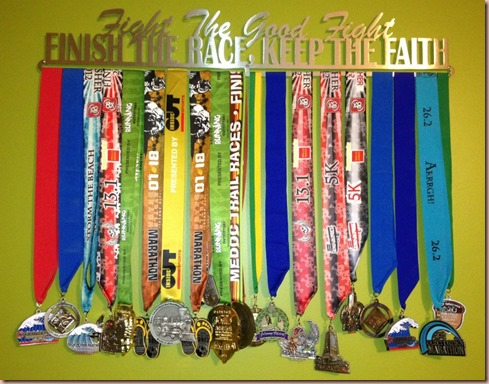 Melissa's medals