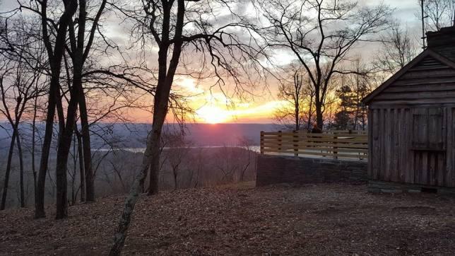 Wes' sunrise