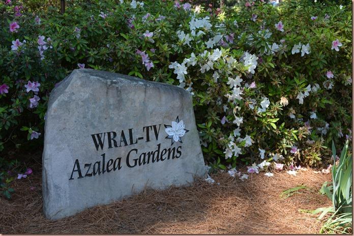 WRAL-TV gardens
